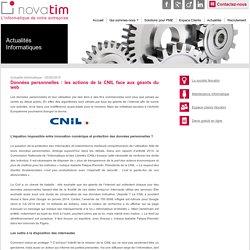 Données personnelles : Les actions de la CNIL