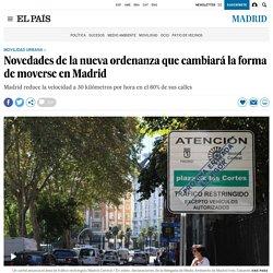 Novedades de la nueva ordenanza que cambiará la forma de moverse en Madrid
