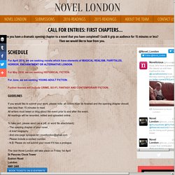 Novel London Submissions