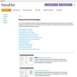 NoveList Search Strategies