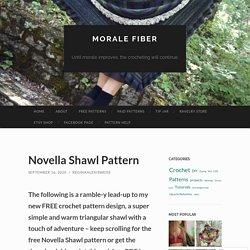 Novella Shawl Pattern