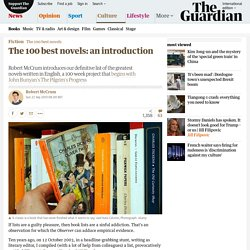 The 100 best novels: an introduction