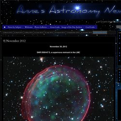 Anne's Astronomy News