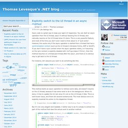 November » 2015 » Thomas Levesque's .NET blog
