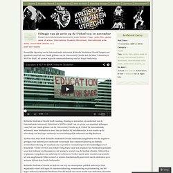 KSU: Filmpje actie Uithof 10nov'09