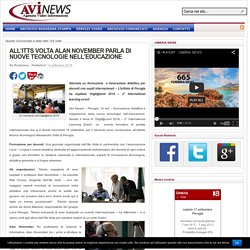 Itts Volta Alan November tecnologie educazione