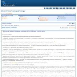 Textes adoptés - Jeudi 25 novembre 2010 - Situation du secteur de l'apiculture - P7_TA(2010)0440