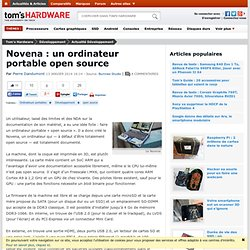 Novena : un ordinateur portable open source
