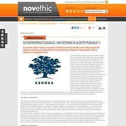 Les entreprises sociales, une réponse à la dette publique ? - Etats - Institutions