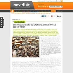 Bois rameaux fragmentés : une nouvelle filière pour les déchets verts ? - Déchets - Environnement