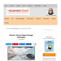 Novice Versus Expert Design Strategies: The eLearning Coach