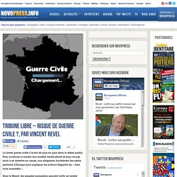 Tribune libre – Risque de guerre civile ?, par Vincent Revel -