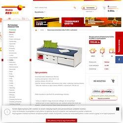 Nowoczesne drewniane łóżko FLORO z szufladami - Łóżka - Resmar - kuchnie, sypialnie, meble do sypialni - internetowy salon meblowy