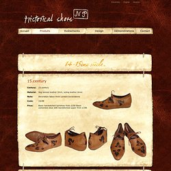 NP Historical Shoes
