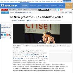 Le NPA présente une candidate voilée