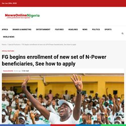 See Npower Batch C Enrollment 2020 date  for new applicants here