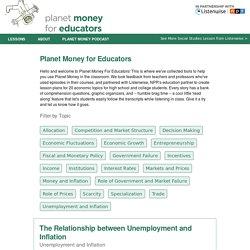 NPR Planet Money for Educators