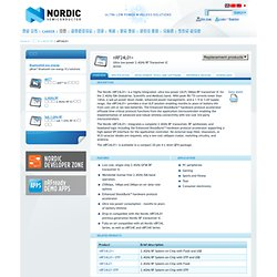 nRF24L01+ - 2.4GHz RF - Products - Nordic Semiconductor