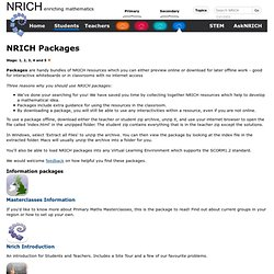 NRICH Packages