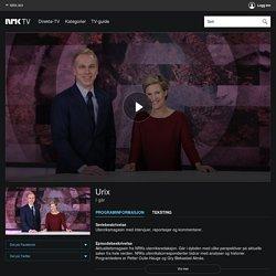 NRK TV - Urix - 01.06.2017