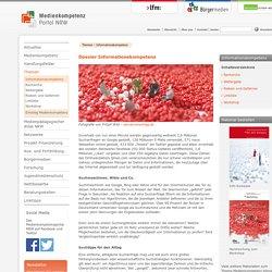 Medienkompetenzportal NRW -Dossier Informationskompetenz