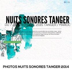 NS Tanger - Du 16 au 19 octobre 2014 / Tanger - Maroc