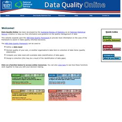 NSS Quality Data Tool