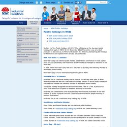 NSW_public_holidays