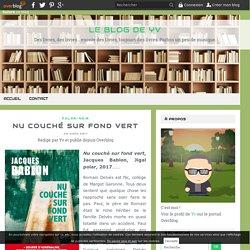 Nu couché sur fond vert (Le blog de Yv)