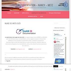 Nuage de mots-clés – Documentation – Nancy – Metz