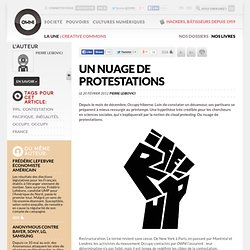 Un nuage de protestations