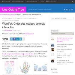 Tagul. Créer des nuages de mots interactifs – Les Outils Tice