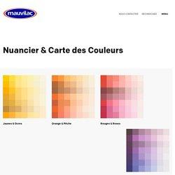 Nuancier & Carte des Couleurs - Mauvilac Industries
