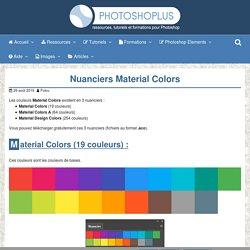Nuanciers Material Colors – Photoshoplus