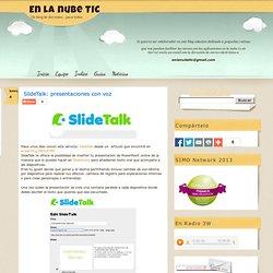 SlideTalk: presentaciones con voz