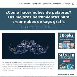 Nubes de Palabras ⇒ 11 Herramientas para crear nubes de tags