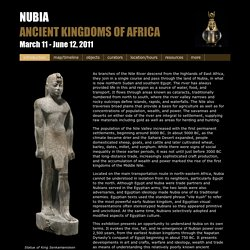 Nubia: Ancient Kingdoms of Africa