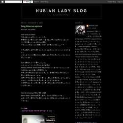 Nubian Lady Blog