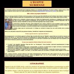 Nubie : histoire