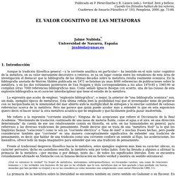 """Jaime Nubiola: """"El valor cognitivo de las metáforas"""""""