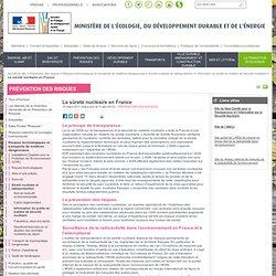 MEDDTL 15/03/11 Contrôle de la sûreté nucléaire en France : qui fait quoi ?