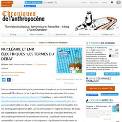 Nucléaire et EnR électriques : les termes du débat