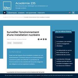 Le nucléaire et l'environnement