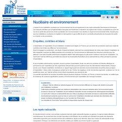 Nucléaire et environnement
