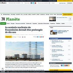 La centrale nucléaire de Fessenheim devrait être prolongée de dix ans - LeMonde.fr-Mozilla Firefox