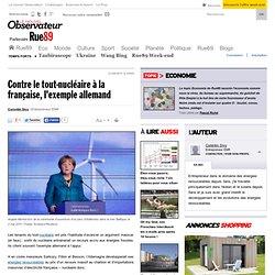 Contre le tout-nucléaire à la française, l'exemple allemand
