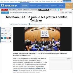 International : Nucléaire: l'AIEA publie ses preuves contre Téhéran