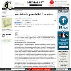 Nucléaire: la probabilité d'un débat