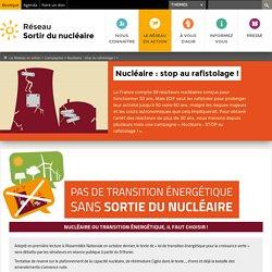 Nucléaire: stop au rafistolage!