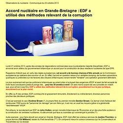 Accord nucléaire EDF/Londres : des réacteurs ultra-subventionnés… mais qui ne verront jamais le jour